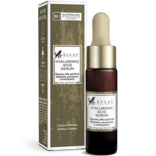 Hyaluronic Acid Serum - 15ML Bottle - 8X More Powerful Anti-Ageing Serum with 2% HA + 10 Antioxidants - Hydrates/Firms/Plumps - 100% Vegan & Dermatologist Developed