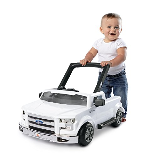 Bright Starts Ways to Play 4-in-1 Walker - Ford F-150, White, Ages 6 months +