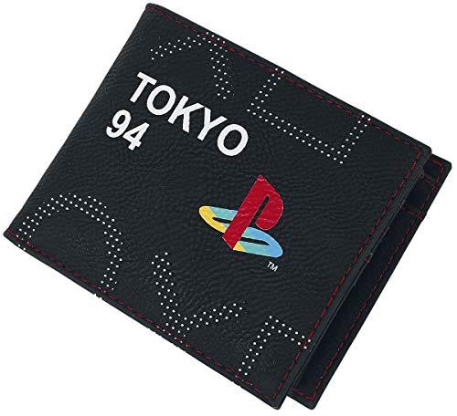 Playstation Unisex's MW752363SNY Portemonnee, Zwart, Normaal