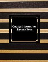 church membership register book