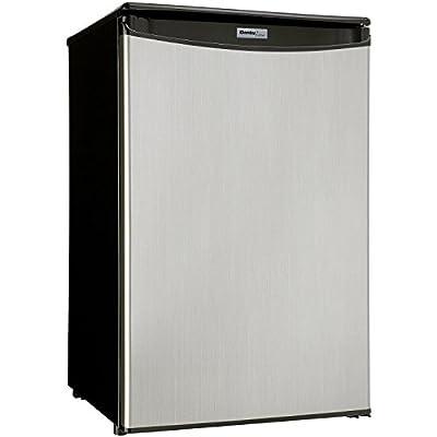 Danby DAR044A5BSLDD Compact Refrigerator, Spotless Steel Door, 4.4 Cubic Feet