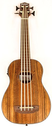 Hadean Acoustic Electric Bass Ukulele UKB-23 FL NM Fretless Ubass