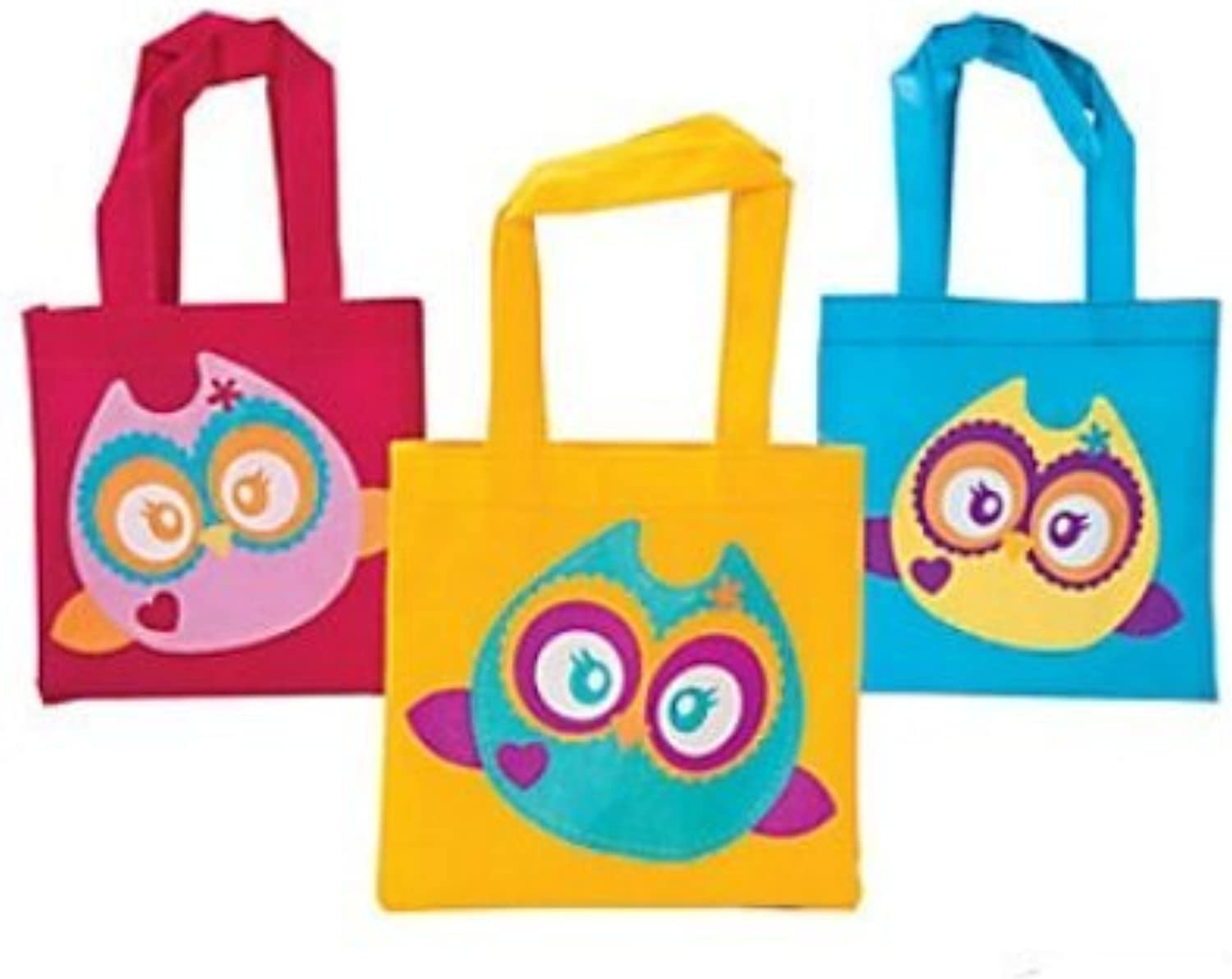 Owl Party Favor Tote Bags  12 ct by Party Supplies