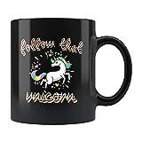 Divertida taza de unicornio, bonito regalo de unicornio, taza de café de unicornio, regalo para ella, bonita taza de café,...