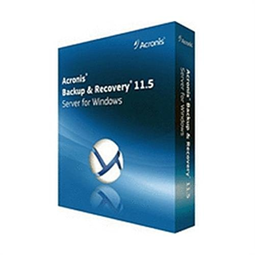 Vollversion Acronis Backup & Recovery 11.5 Server for Windows incl. AAP BOX / Englisch / -