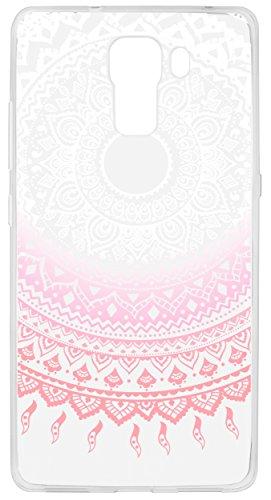 mumbi Hülle kompatibel mit Honor 7/7 Premium Handy Case Handyhülle mit Motiv Mandala rosa, transparent - 5
