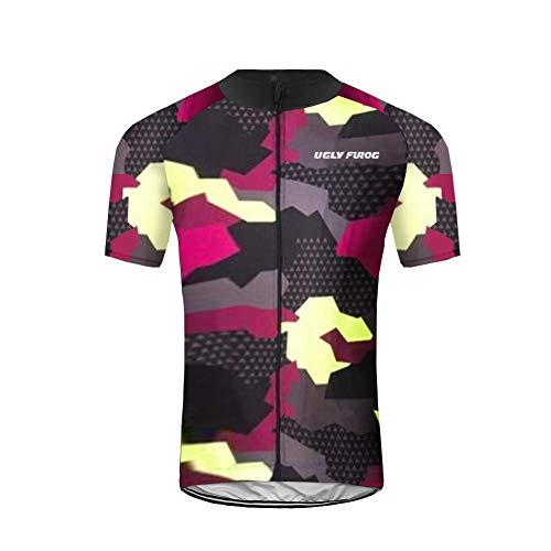 Uglyfrog Ropa Verano Hombre MTB Bici Cycling Jersey Maillot Ciclismo Mangas Cortas Camiseta de Ciclistas Ropa Ciclismo FAXMIX-201905
