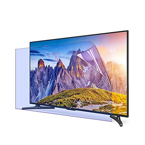 WSHA 65 Protector de Pantalla de TV Mate antideslumbrante/Anti Reflectante/Anti luz Azul/Película antihuellas Que Reduce la Fatiga Ocular para Pantalla LCD LED OLED HDTV