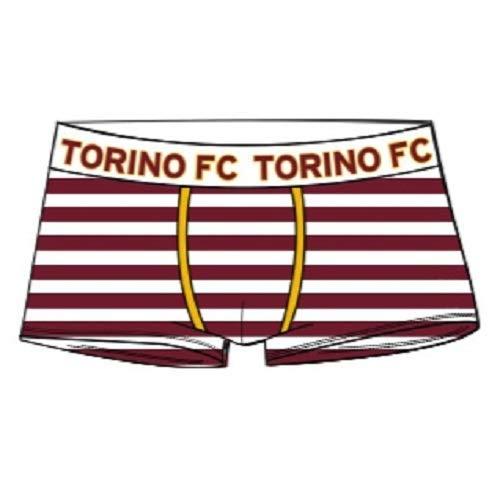 TORINO F.C Boxer Abbigliamento Intimo Prodotto Ufficiale Bambino Ragazzo Torino calcioInter Calcio (Rigato, 12 Anni)