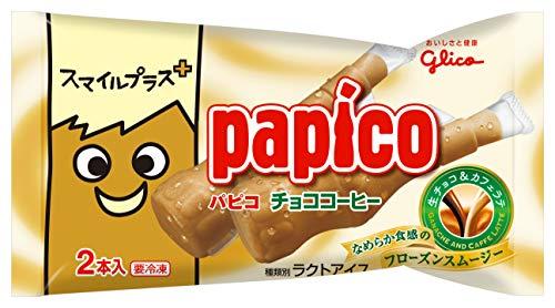 江崎グリコ スマイルプラス+ パピコチョココーヒー 90ml ×27個