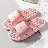 Sandalias De Reflexología Terapéutica,Zapatillas de Masaje Facial Mujer, Sandalias Antideslizantes de baño-Pink_40-41,Sandalias de Masaje Plantar Zapatos