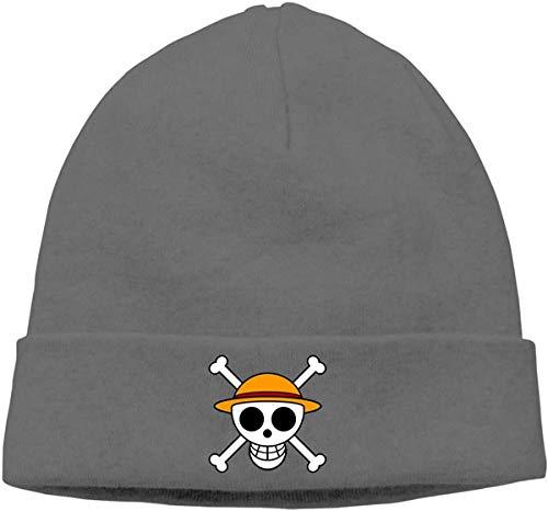 BHGYT Lovely Pirate Unisex Winter Knitting Wool Warm Hüte Daily Slouchy Hütes Beanie Skull Hut