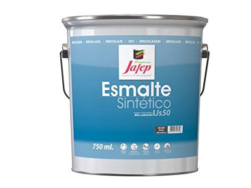 Jafep 35170133 Esmalte sintético, Negro, 4 l
