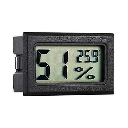 Hotaluyt Wireless-LCD-Digital-Thermometer-Hygrometer Innenraum Haustier Auto Auto Mini-Temperatur-Feuchtigkeits-Messinstrument-Prüfvorrichtung
