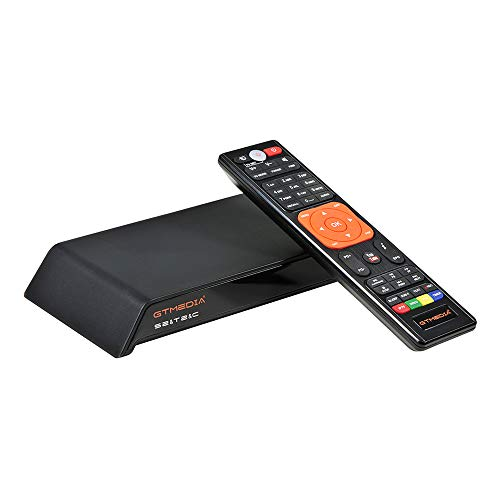 Docooler GT Media V8 Pro2 DVB-S2 Receptor de TV HD 1080P Set Top Box Receptor de transmisión de Video Digital Soporte WiFi Incorporado H.265