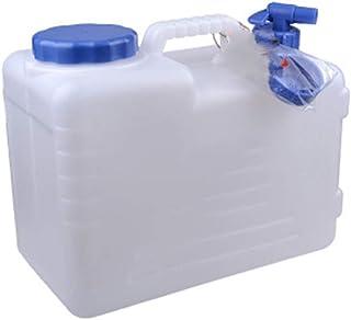 NOWAYTOSTART Wassertank 24L transparent Wasserbeh/älter mit Wasserhahn,f/ür Wandern Camping Picknick Travel BBQ
