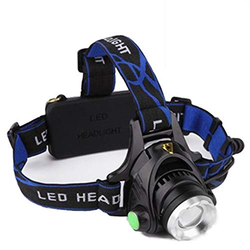 Linterna Frontal , LED Linterna de Cabeza Super Brillante 120 Lumens Lampára de Cabeza Impermeable Luz Frontal 3 Modos Para Camping Pesca Ciclismo Carrera Caza (3 Pilas AAA not incluidas)