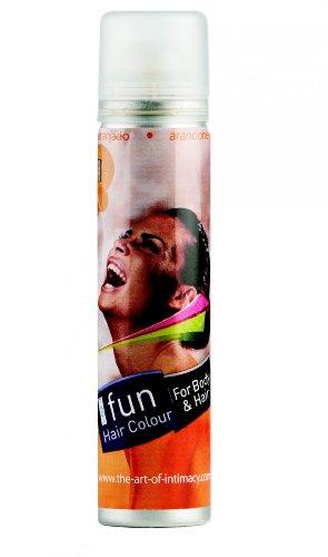 Spray corps et cheveux orange