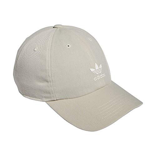 adidas Originals Men's SST Relaxed Fit Adjustable Cap, Alumina, One Size