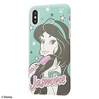 イングレム iPhone XS/X 『ディズニーキャラクター』/TPUソフトケース Colorap/『ジャスミン/夢見るプリンセス』 IN-DP20CP1/JM