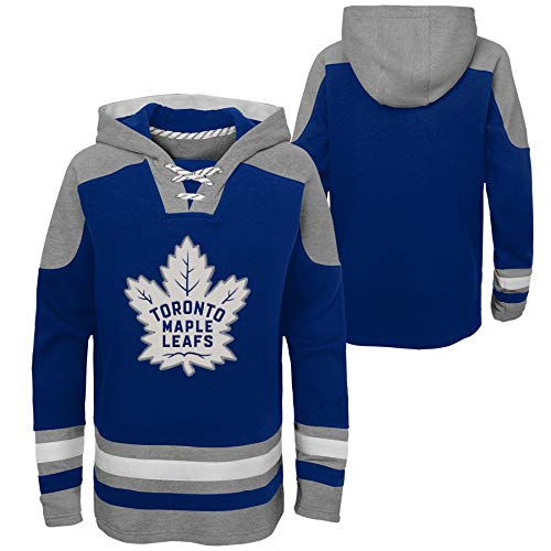 OuterStuff NHL Kinder Hoody Toronto Maple Leafs Youth Ageless Must-Have Eishockey Kaputzenpullover Hooded Sweater (L (14/16))