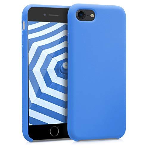 kwmobile Cover Compatibile con Apple iPhone 7 8   SE (2020) - Cover Custodia in Silicone TPU - Back Case Protezione Cellulare Blu