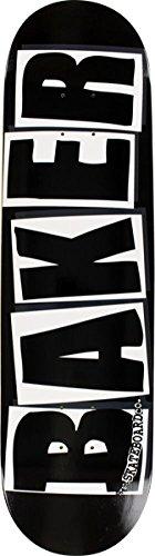 Baker Brand Logo Black / White Skateboard Deck - 8.25 x 31.875 by Baker