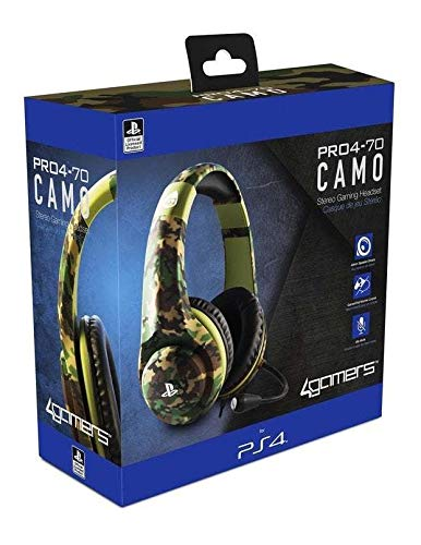 4Gamers PRO4-70 PS4 Headset - Camouflage