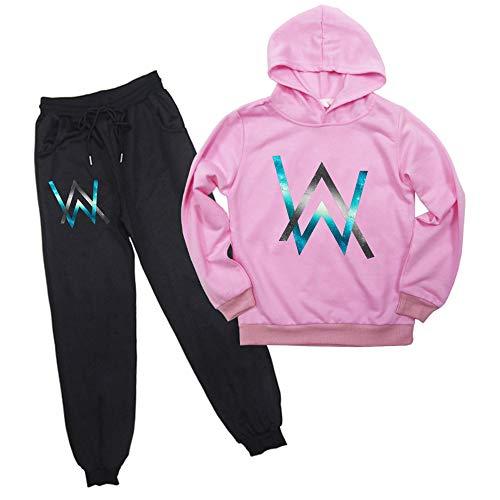 Alan Walker Hoodies Pants Set 2 Stück Sweatsuits für Kinder Jungen Mädchen