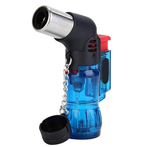 HelloCreate Winddicht Gas Butaan Aansteker BBQ Fornuis Kookplaat Igniter - Blauw