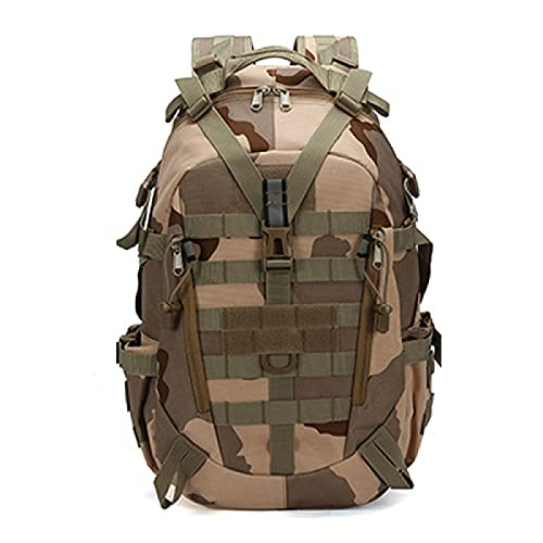 Camouflage Backpack Men and Women Outdoor Mountaineering Travel Bag Waterproof Fishing School Bag Computer Backpack
