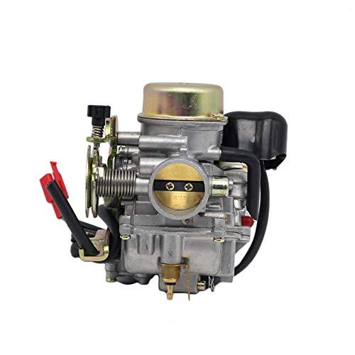Motor de motocicleta Modificar potencia CVK30 30 mm Carburador Carbo/Ajuste para Suzuki / AN250 GY6 250 Cc Scooter ATV Carburador Reemplaza