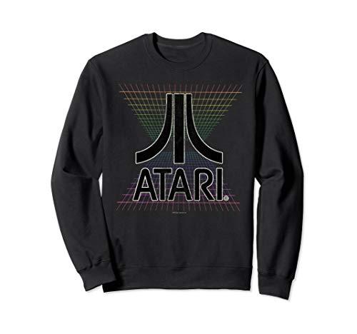 Official Atari Grid Gradient Unisex Sweatshirt, S to 2XL