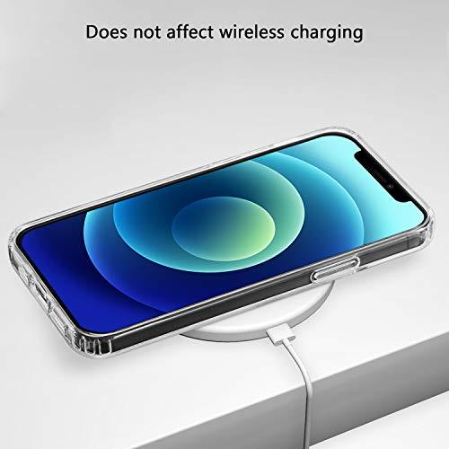 ANEWSIR Hülle Kompatibel mit iPhone 12 Mini 5.4 Zoll Hülle Schutzhülle (Transparent).