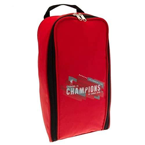 Liverpool FC Champions of Europe Fußballschuhtasche, Rot
