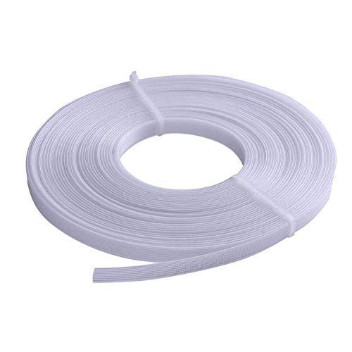 Polyester-Entbeinung zum Nähen, 45,7 m x 1,3 cm durch geringe Dichte für Hochzeitskleid, Korsett, Stillmützen, Brautkleider, Abendkleider, Dessous, Bademode, Hüte, Handtaschen