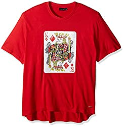 King Red Reverse Sequin Tee