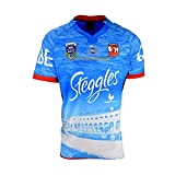 ZDVHM 2017 Australia Sydney Rooster Rugby Jersey 100% Poliéster Tela Transpirable Deportes Entrenamiento Camiseta Uniforme de Rugby Camisa de fútbol Camisetas para Fans (Color : 1, Size : S)