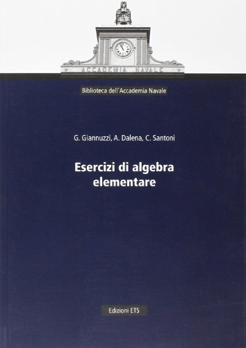 Esercizi di algebra elementare