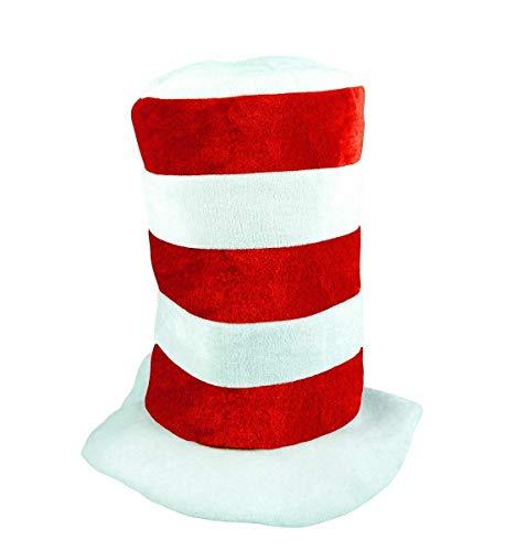 DIGITAL SPOT Kindermütze, rot-weiß gestreift, mit roter Fliege und Handschuhen Gr. Einheitsgröße, Mütze für Erwachsene, Rot/Weiß gestreift