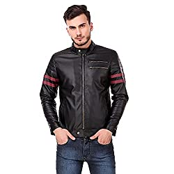 Leather Retail Mens Wolverine Faux Leather Jacket