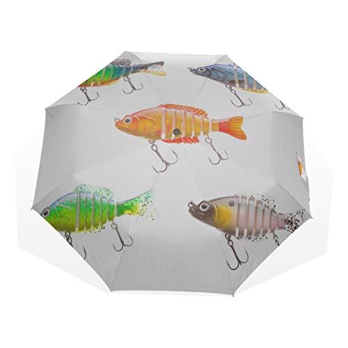 Parapluie de Voyage Belle et Belle appâts de pêche...