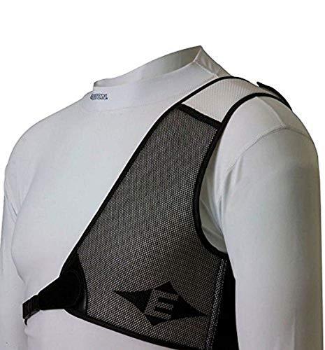 Easton Diamond Chest Guard RH White/Black (Small)