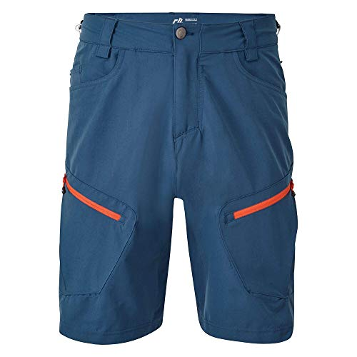 Dare 2B DMJ411 4KZ036 Tuned in II' Stretch Water Repellent, Pantaloncini Uomo, Blu maiolica, 36'