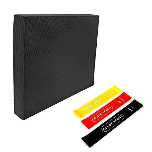 CCLIFE 50x40x6cm TPE Almohadilla Equilibrio Tabla Balance Pad Colchoneta de coordinación, Color:DGNMT030A0000swz