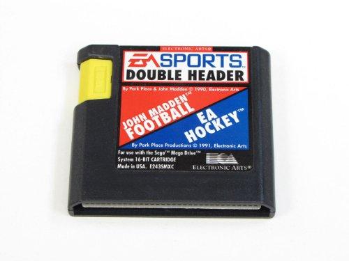 EA Sport Double header - EA Hockey / John Madden Football - Megadrive - PAL