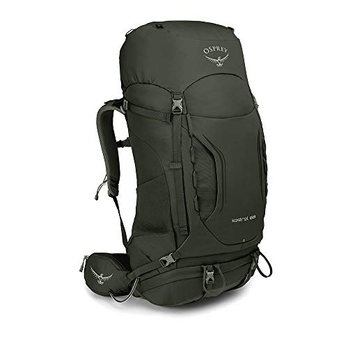 Osprey Kestrel 68, Zaino da Escursionismo Uomo, Picholine Green, S/M