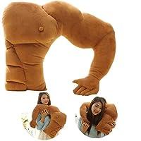 Luxuriöses Boyfriend-Kissen mit Arm Material: Plüsch + PP Baumwolle, Größe: ca. 58 cm Entworfen wie ein Freund Arm. Schlafen Sie damit genauso wie Ihr Freund neben Ihnen. Sich sicher und wohl fühlen Es ist nicht nur ein Geschenk oder Dekoration. Es i...