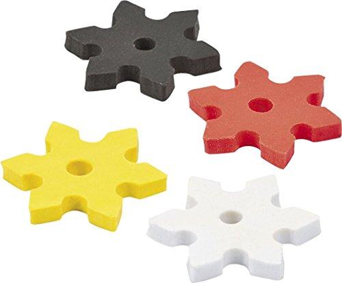 NINJA STAR ERASERS - Stationery - 24 Pieces
