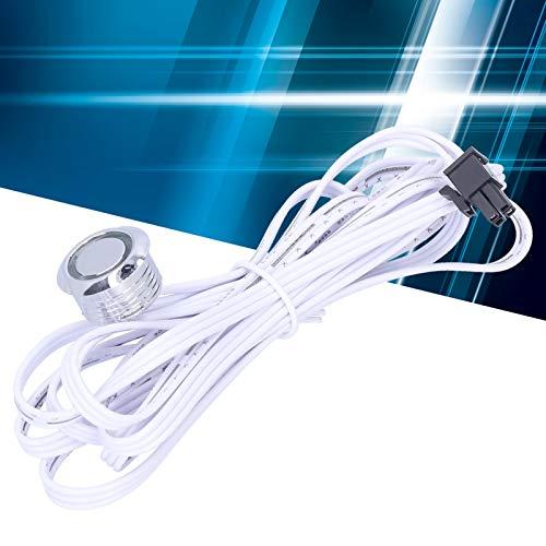 Aleación de aluminio con un sensor táctil del interruptor de inducción del arnés de cableado, para la luz del armario del gabinete del LED
